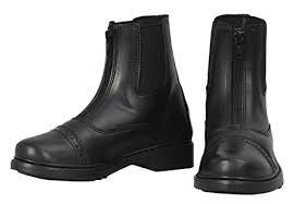 womens size 12 paddock boots amazon com tuffrider children s starter front zip paddock boots