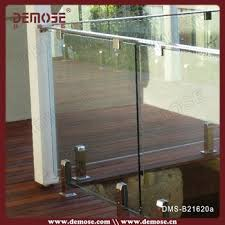 stainless steel railing parts glass balcony deck railing designs