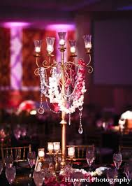 Reception Centerpieces Contemporary Indian Wedding Reception By Harvard Photography