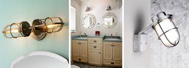 Nautical Light Fixtures The Best Idea For Coastal Decor Accents Nautical Light Fixtures Bathroom