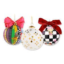 designer ornaments christopher radko designer claus