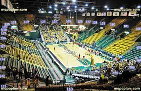 eaglebank arena view from section 110 row t seat 18