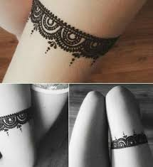 13 amazing thigh henna mehndi designs