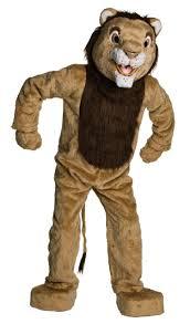 lion costume plush deluxe mascot lion costume costume craze