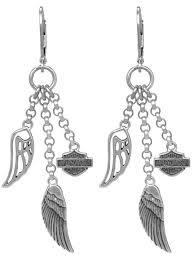 womens earrings 73 best women s h d earrings images on harley davidson