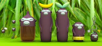 portaspezie alessi scopri portaspezie banana band set 3 contenitori con tappi