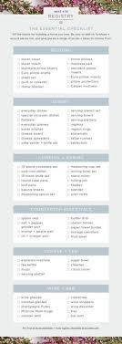 wedding registry list your essential wedding registry checklist popsugar food