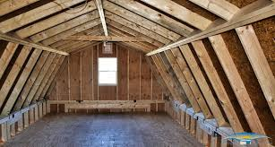 Gambrel Roofs delightful log garage packages 7 garages one car two story