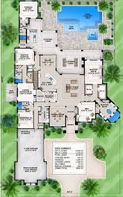 Master Suites Floor Plans Mediterranean Dream Home Plan With 2 Master Suites 86021bw