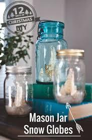 122 best mason jar snow globes images on pinterest christmas