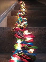 lighted christmas tree garland day 27 day 28 scrappy lighted christmas tree garland ruffle