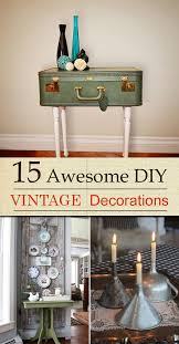 awesome diy vintage decorations