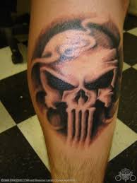 15 punisher tattoo designs