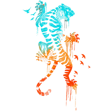 melted survival tiger shirt by design by humans on deviantart