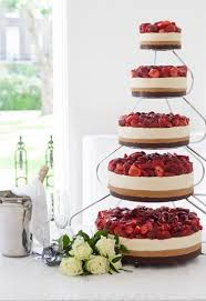 alternative wedding cakes cheesecake wedding cake 20 amazing alternative wedding cake