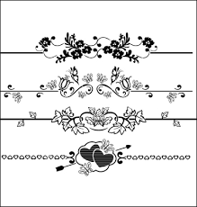 fancy page dividers decorative lines vector 968503 by navsekaya