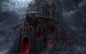 scary halloween screensavers haunted house 748730 walldevil