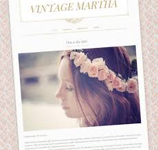 Shabby Chic Website Templates vintage martha shabby chic blogger template web blogger