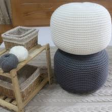 knitted pouf wholesale pouf suppliers alibaba