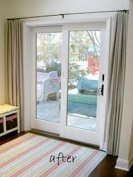 Sliding Patio Door Reviews by Awesome Curtains For Slider Doors Ideas With Best 25 Patio Door
