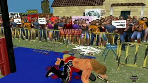 nwgc mod engine wrestling mpire remix backyard arena v 2 youtube