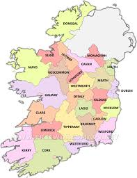 Map Ireland Ireland Political Map