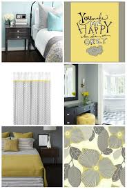 Bedroom With Yellow Walls And Blue Comforter Yellow And Grey Quilt Home Decor Accents Wedding Party Color