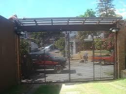 porton de rejas horizontales hierro forjado pinterest garage porton de rejas horizontales garage doorsfacadehouse designfenceremodelingsmall