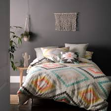 mod by linen house arizona quilt cover set