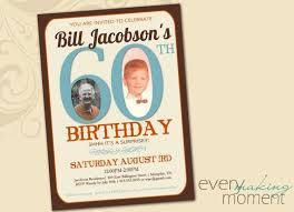 custom 60th birthday invitations cheap 60th birthday invitations