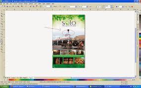 membuat poster dengan corel draw x7 coreldraw melindatrilestari10