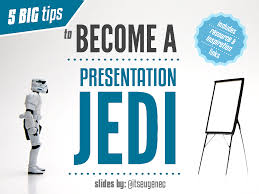 5 tips to become a presentation jedi powerpoint presentation ppt