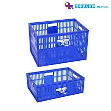 Keranjang Industri jual keranjang industri plastik kecil serbaguna berlubang toko plastik