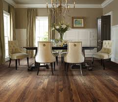 atlanta pink paint dining room traditional with dark wood