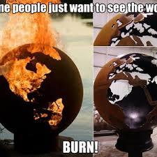 Fire Pit Globe by Fire Pit Globe By Vitor1993 Meme Center