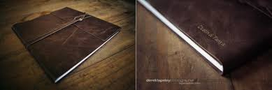 leather bound wedding album leather bound wedding albums brianca designs