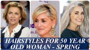 hairstyles for 50 year old woman spring hair trends 2018 youtube