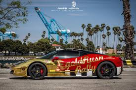 golden ferrari 458 goldrush rally ferrari 458 chicago motor cars mid america car tell