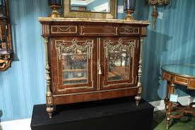 Dining Room Server by Napoleon Side Cabinet French Server With Brass Mountings