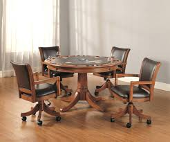 informal dining room ideas casual dining chairs with wheels room casters furniture charming