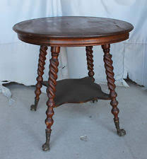 claw foot table with glass balls in the claw oak american victorian antique tables 1900 1950 ebay