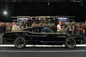 ring brothers mustang for sale barrett jackson 2014 ring brothers 1967 ford mustang kona sells