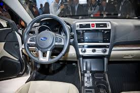 subaru outback touring interior 2015 subaru outback first look motor trend