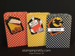 spooky fun halloween treat bags stampin u0027 pretty