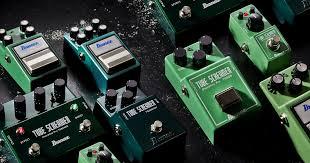 effects tube screamer ibanez guitars