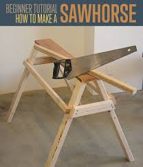 how to make a sawhorse diy projects craft ideas u0026 how to u0027s for