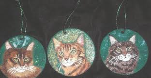 pet lover ornaments painted