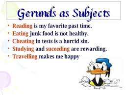 gerund as subject and object worksheets austsecure com