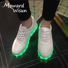 light up sole shoes size 25 45 led shoes with light up sole kids boys basket