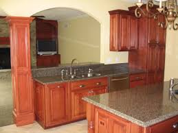 kitchen pass through with breakfast bar galley kitchen with pass